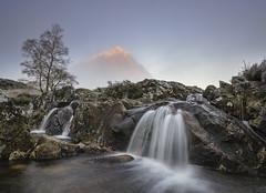 'Zen' - Buachaille Etive Mor (Kristofer Williams) Tags: fog sunrise frost landscapemountainbuachailleetivemorscotlandhighlandsglencoerannochmoorwaterfall