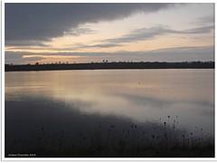 Sonnenuntergang am Oberen Knappensee (Jorbasa) Tags: lake sunrise germany deutschland see sonnenuntergang hessen geotag wetterau hungen giesen jorbasa obererknappensee