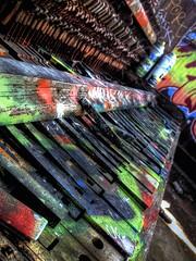Old Piano In Abandoned Warehouse CA (SF Miggy) Tags: california urban streetart abandoned photography graffiti paint decay piano streetphotography urbanart warehouse forgotten urbanexploration bayarea spraypaint graff aerosol filth filthy derelict aerosolart dilapidated spraycan pianokeys graffitiart abandonedbuilding urbanlife urbex graffart abandonedplaces abandonedwarehouse filthyfeeds uploaded:by=flickrmobile flickriosapp:filter=nofilter