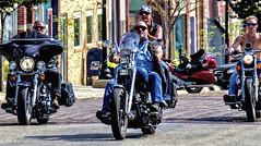 Comin' At Ya (Wes Iversen) Tags: summer walnut motorcycles iowa bikers hcs nikkor18300mm clichsaturday