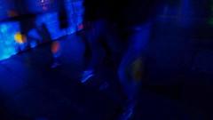 soul walkers (*F~) Tags: blue light night darkness walkers humans