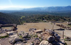 """Palace"" Courtyard, Mycenae"