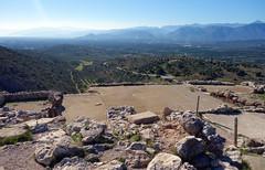 """""""Palace"""" Courtyard, Mycenae"""