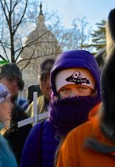 Peaceful Protest (louisthecamera) Tags: girl america washingtondc eyes unitedstates god politics religion protest capitol prolife marchforlife