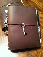 Midori Passport Setup (urbingirl) Tags: notebook midori skeletonkey midoritravelersnotebook uploaded:by=flickrmobile flickriosapp:filter=nofilter