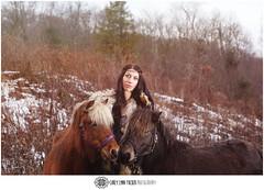 Year of the Horse (coreylynn) Tags: winter woman model pony february shetland 2014 yearofthehorse coreylynntuckerphotography spirithorsetherapeuticridingcenterofcanton