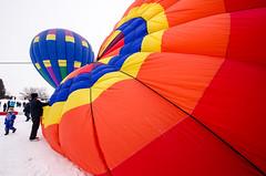 winter red snow wisconsin balloons unitedstates hotairballoon hudson hotairballoons hotairaffair d7000 nikon1024mm 2014hudsonhotairaffair
