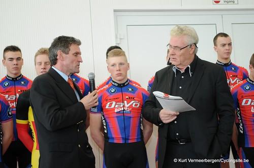Ploegvoorstelling Davo Cycling Team (206)