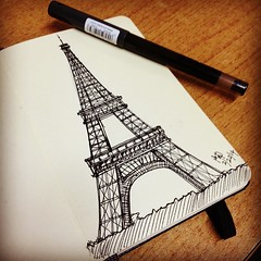 Eiffel Tower Sketch #eiffel #eiffeltower #sketch #drawing