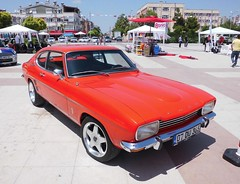 Ford Capri GT (1974) (Saygın Sancar) Tags: classic ford car turkey capri automobile türkiye antalya turkish araba klasik otomobil akok muratpaşa muratpaşabelediyesi terracity beyazdünya klasikotoşov antalyaklasikotomobilkulübü