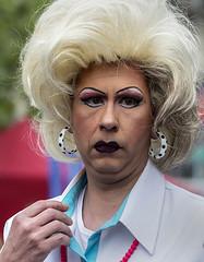 Dark lips (jefvandenhoute) Tags: brussels photoshop nikon belgium belgique belgië bruxelles brussel d800 2013 nikond800 lesbiangaypride photoshopcs6 lesbiangayparade