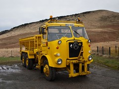 MHV 522L  1973  Atkinson 6x6 Gritter  Stuart Kaye  Carriage House Marsden (wheelsnwings2007/Mike) Tags: house west 6x6 cafe carriage yorkshire stuart kaye 1973 marsden atkinson mhv a62 gritter 522l motormans
