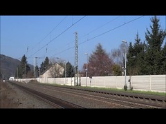 DB Two electric locomotives of class 189 pulling a goods train. (Franky De Witte - Ferroequinologist) Tags: de eisenbahn railway estrada chemin fer spoorwegen ferrocarril ferro ferrovia