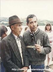Una sesión de trabajo con don Jerónimo Barría