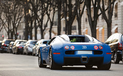 Bugatti Veyron (Valkarth) Tags: auto street blue paris france car bug french photography photo automobile blu 14 dream fast automotive voiture bleu coche alsace bugatti supercar fastest spotting reve veyron faster 2014 bugg 1000hp hypercar 1001hp 2k14 molzeim
