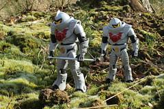 Horde Troopers patrol (rodstoybox) Tags: troopers classics masters universe horde heman