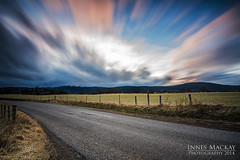 Classic Scottish Scene (Innes Mackay Photography) Tags: longexposure light sky sun mountain blur green grass clouds landscape scotland highlands nikon warm sunny wideangle blurred tokina rays filters hitech graduated cairngorms boatofgarten remoteshutterrelease d7100 tokina1116mm 10stopfilter 11mm16mm leeholder