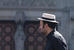 Sunny Barcelona (Natali Antonovich) Tags: barcelona portrait hat spain hats catalonia barcelonaspain sunnybarcelona hatisalwaysfashionable