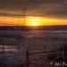 Sunset at Vanhankaupunginlahti