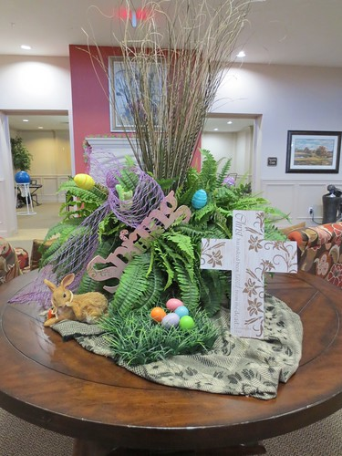 Easter decoration at my Mother's care unit