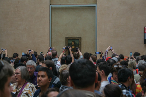 Mona Lisa - how one sees it