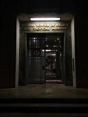 IMG_1027 (DG Jones) Tags: london night soho odd medicine jurassicpark centrallondon londonschoolofhygieneandtropicalmedicine setpublic