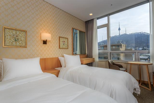 ソウルの日系ホテル:ロワジールホテル ソウル明洞