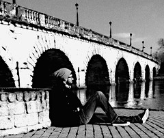 Under bridge (abdelbarietaliouan) Tags: roma ro puente canal arte reflejo tome rumano