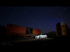 (Andrew Barshinger Photography) Tags: sky car vw night canon tdi euro low jetta lowered strobes bagged lightpaint