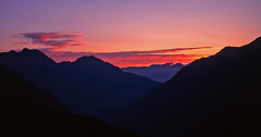 Anstieg Lüsener Fernerkogel 3298m (ernst.weberhofer) Tags: sunrise tirol sonnenaufgang stubai lüsenerfernerkogel