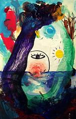 Salir(se) del agua turbia (Felipe Smides) Tags: pintura smides felipesmides