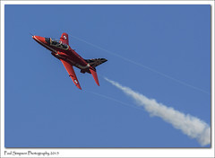 Red Arrows over Scampton (Paul Simpson Photography) Tags: red airplane aircraft bluesky aeroplane lincolnshire redarrows raf photosof imageof photoof imagesof sampton paulsimpsonphotography