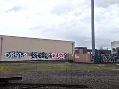 Drala Kuete ? Task Twit (always_exploring) Tags: oregon portland graffiti explore sjc graff twit pnw lurk task 1810 upsk portlandgraffiti drala kuete