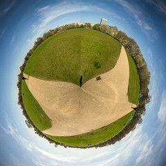 Hyde Park, London (Adam Court) Tags: world park abstract london big little sony hyde round planet 12mm f20 samyang a6000 ilce6000