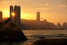 Beautiful Orange Sunset (C. Alice) Tags: nex5r sony sonynex5r 2014 hongkong orange architecture eagle sunset harbour asia building sea sky evening clouds water light beautifulearth sonyepz1650mmf3556oss favorites60 1000v40f favorites100 inspiredbylove favorites150 100commentgroup 3000views favorites200 4000views 5000views