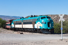 VCRR FP7 1512 (rmssch89) Tags: railroad arizona green train desert eagle diesel central railway canyon excursion emd shortline funit carbody