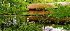Haus am See (AstridSusann) Tags: outdoor haus mai colourful kanal sonne gewitter emsland sturm