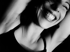 (Daniel Iván) Tags: portrait blackandwhite girl smile portraits hair blackwhite mujer chica retrato teeth retratos bella sonrisa cabello dientes blackwhitephotography blackwhitephoto cabellolargo classicbeauty blackwhitephotos mujerargentina solrezza bellezaclásica
