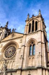 Siempre (Always) (Dibus y Deabus) Tags: sky espaa church architecture clouds canon spain arquitectura gijn iglesia asturias cielo nubes 7d gijon hdr iglesiadesanlorenzo