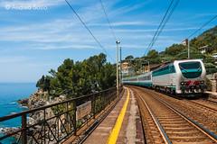 E.403.015 TI (Andrea Sosio) Tags: train ic italia liguria stazione treno 015 intercity mulinetti trenitalia 511 recco ferroviedellostato nikond60 e403 ansaldobreda andreasosio