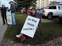 DSCN6556 (WildEarthGuardians) Tags: protest wyoming climate publiclands leasing oilandgas fracking keepitintheground