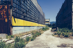 III (The New Motive Power) Tags: city urban abandoned industry rust decay empty bulgaria disused derelict factories pernik  canon7d