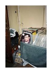 Somewhere in Bucharest (Punkroyaltiger) Tags: film mju kodak vinyl romania analogue portra bucharest travolta