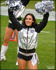 2015 Oakland Raiderette Monica @ Coliseum (billypoonphotos) Tags: woman black girl lady silver photography oakland photo dance football team nikon pretty photographer cheerleaders nfl nation picture dancer monica coliseum females cheerleading squad fabulous chiefs raiders raider 2015 raiderette raiderettes raidernation d5200 billypoon billypoonphotos