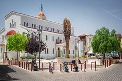 _DSF1467 (Stephan Horn) Tags: street outdoor kreta kirche crete architektur fujifilm griechenland rethymno brgersteig sule xt10 landstrase xf1855mmf284