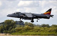 Harrier (Bernie Condon) Tags: uk tattoo plane flying display aircraft aviation military attack jet airshow bae bomber hawker warplane airfield harrier jumpjet ffd fairford riat raffairford airtattoo vstol