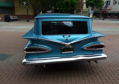 1959 Chevrolet Sedan Delivery (Jolita Kieviien) Tags: old usa classic chevrolet sedan antique delivery 1959