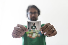 Picture in Picture (AvikBangalee) Tags: portrait whitebackground portraiture pip dhaka bangladesh pictureinpicture instantphoto photoinphoto fujifilminstax avikbangalee fujifilminstaxseries