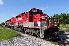 RJ Corman - Tunnel Motor (Laurence's Pictures) Tags: railroad ess pee train rj kentucky engine rail railway tunnel transportation motor freight berea cormak