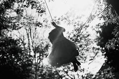 Tree swing fun (privizzinis passion photography) Tags: trees light people blackandwhite tree girl monochrome sunshine childhood children fun outside outdoors play bokeh outdoor joy swing treeswing hild freelensed